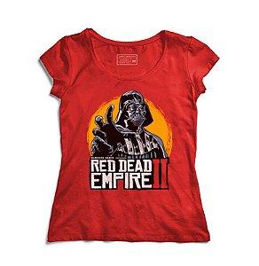 Camiseta Feminina Galactic Evil King - Loja Nerd e Geek - Presentes Criativos