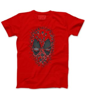 Camiseta Masculina Red ombie  - Loja Nerd e Geek - Presentes Criativos