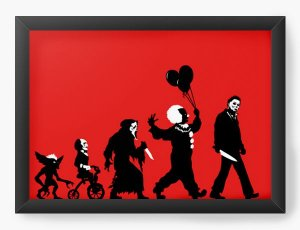 Quadro Decorativo A4 (33X24) Assassins - Loja Nerd e Geek - Presentes Criativos