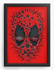 Quadro Decorativo A4 (33X24) Red ombie - Loja Nerd e Geek - Presentes Criativos