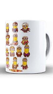 Caneca Mini Bananas - Loja Nerd e Geek - Presentes Criativos