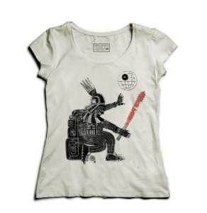 Camiseta Feminina Powerful Dark - Loja Nerd e Geek - Presentes Criativos
