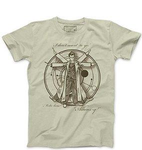 Camiseta Masculina Homem Espaço - Loja Nerd e Geek - Presentes Criativos
