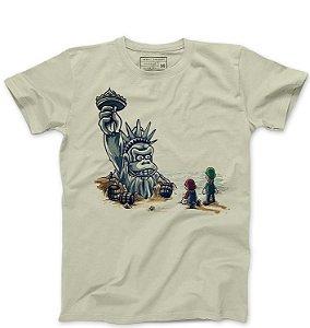 Camiseta Masculina Monkey American - Loja Nerd e Geek - Presentes Criativos
