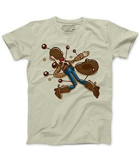 Camiseta Masculina Cowboy de Brinquedo - Loja Nerd e Geek - Presentes Criativos
