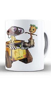 Caneca Robo and Tree - Loja Nerd e Geek - Presentes Criativos
