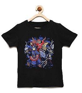 Camiseta Infantil Cientista e sua Turma  - Loja Nerd e Geek - Presentes Criativos