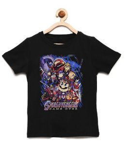 Camiseta Infantil  Plumber Game Over  - Loja Nerd e Geek - Presentes Criativos