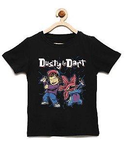 Camiseta Infantil Dustyy Monster - Loja Nerd e Geek - Presentes Criativos