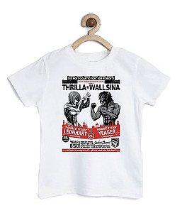 Camiseta Infantil A Batalha  - Loja Nerd e Geek - Presentes Criativos