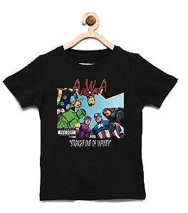 Camiseta Infantil Infinity  - Loja Nerd e Geek - Presentes Criativos
