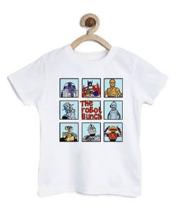 Camiseta Infantil The Robot  - Loja Nerd e Geek - Presentes Criativos