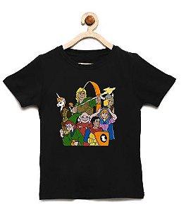 Camiseta Infantil A Caverna - Loja Nerd e Geek - Presentes Criativos