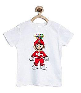 Camiseta Infantil Plumber Bros - Loja Nerd e Geek - Presentes Criativos