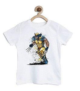 Camiseta Infantil Arma X - Loja Nerd e Geek - Presentes Criativos