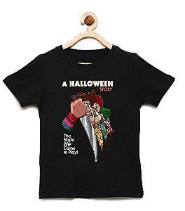 Camiseta Infantil Terror dos Brinquedos  - Loja Nerd e Geek - Presentes Criativos