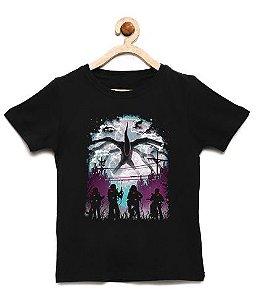 Camiseta Infantil Crianças Estranhas - Loja Nerd e Geek - Presentes Criativos