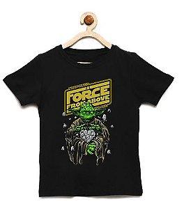 Camiseta Infantil A Força - Loja Nerd e Geek - Presentes Criativos