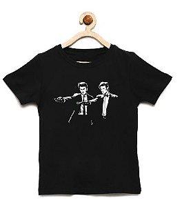 Camiseta Infantil Doutores da Cabine - Loja Nerd e Geek - Presentes Criativos