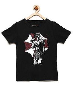 Camiseta Infantil Kill a Zombie - Loja Nerd e Geek - Presentes Criativos