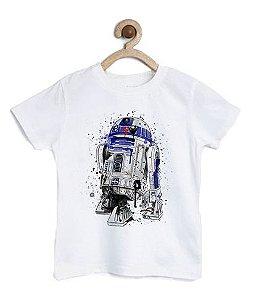 Camiseta Infantil Robo do Espaço - Loja Nerd e Geek - Presentes Criativos