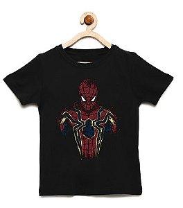 Camiseta Infantil Homem de Teia - Loja Nerd e Geek - Presentes Criativos