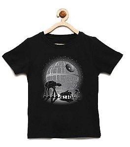 Camiseta Infantil Space Movie - Loja Nerd e Geek - Presentes Criativos