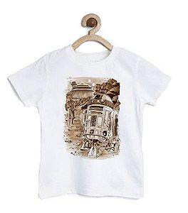 Camiseta Infantil Filme do Espaço - Loja Nerd e Geek - Presentes Criativos