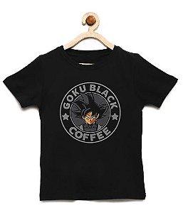 Camiseta Infantil Black Coffe - Loja Nerd e Geek - Presentes Criativos
