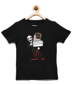 Camiseta Infantil Killer and ET - Loja Nerd e Geek - Presentes Criativos
