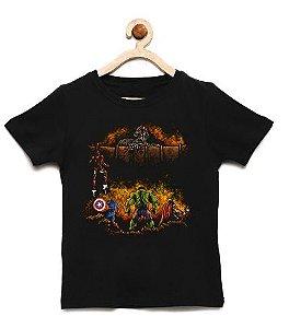 Camiseta Infantil Prontos Para Batalha - Loja Nerd e Geek - Presentes Criativos