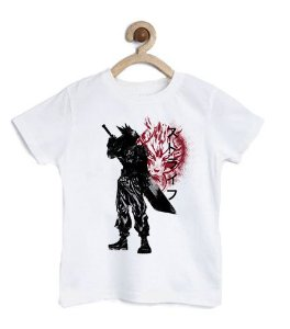 Camiseta Infantil Ex Soldado - Loja Nerd e Geek - Presentes Criativos