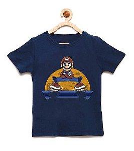 Camiseta Infantil Dividido Plumber - Loja Nerd e Geek - Presentes Criativos