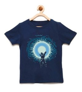 Camiseta Infantil Super Dragon - Loja Nerd e Geek - Presentes Criativos