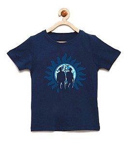 Camiseta Infantil Mysterious Brothers - Loja Nerd e Geek - Presentes Criativos