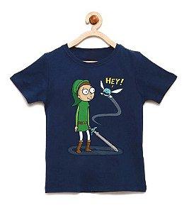 Camiseta Infantil Hey Elf - Loja Nerd e Geek - Presentes Criativos