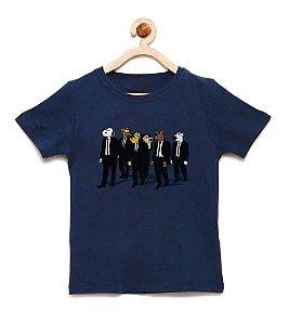 Camiseta Infantil Dogs 007 - Loja Nerd e Geek - Presentes Criativos
