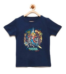 Camiseta Infantil The Future Vol.2 - Loja Nerd e Geek - Presentes Criativos