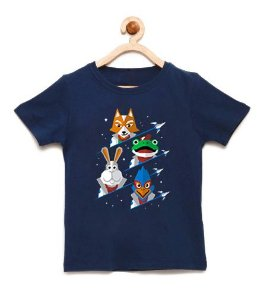 Camiseta Infantil Defensores - Loja Nerd e Geek - Presentes Criativos