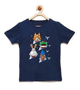 Camiseta Infantil Defensores - Loja Nerd e Geek - Presentes Criativos