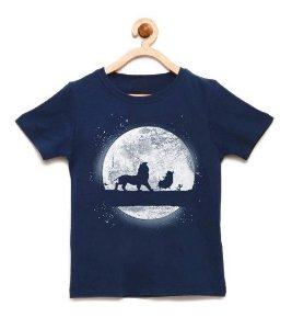 Camiseta Infantil King - Loja Nerd e Geek - Presentes Criativos