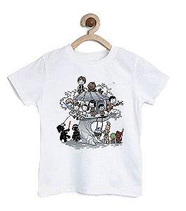 Camiseta Infantil Parque dos Robos - Loja Nerd e Geek - Presentes Criativos