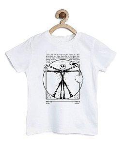 Camiseta Infantil Big Skeleton - Loja Nerd e Geek - Presentes Criativos