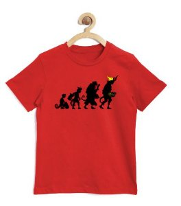 Camiseta Infantil Hell Man Evolution - Loja Nerd e Geek - Presentes Criativos