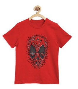 Camiseta Infantil Red ombie - Loja Nerd e Geek - Presentes Criativos