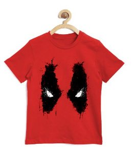 Camiseta Infantil Red Eyes - Loja Nerd e Geek - Presentes Criativos