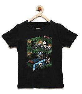 Camiseta Infantil Elf Fase  - Loja Nerd e Geek - Presentes Criativos