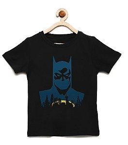 Camiseta Infantil Morcego City - Loja Nerd e Geek - Presentes Criativos