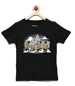 Camiseta Infantil Road Bananinhas - Loja Nerd e Geek - Presentes Criativos