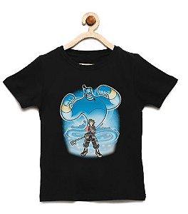 Camiseta Infantil O Genio  - Loja Nerd e Geek - Presentes Criativos